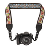Camera Strap - White Flowers