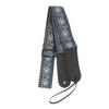 My Fave Guitar Strap in Blue Bohemian