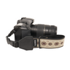 My Fave Camera Wrist Strap - Pattern: Circles, Color: Tan