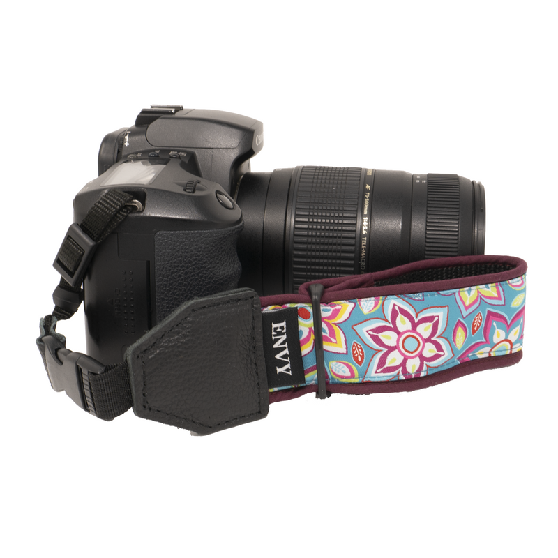 My Fave Camera Wrist Strap - Pattern: Happy