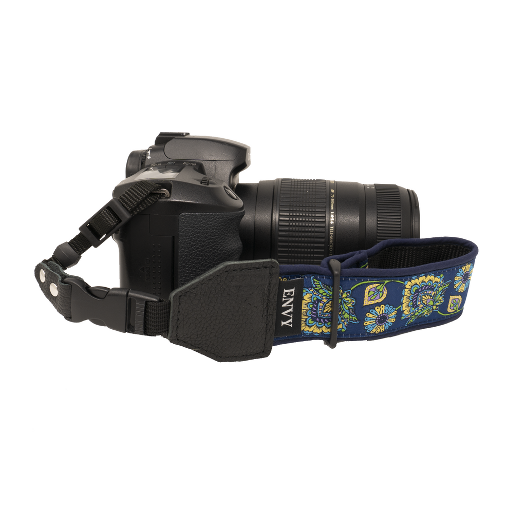My Fave Camera Wrist Strap - Pattern: Morning Glory