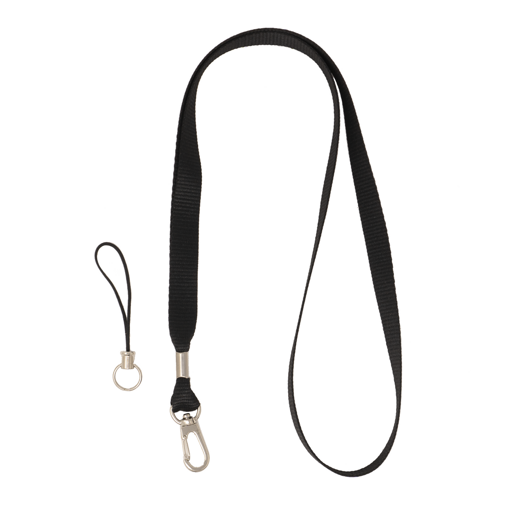 My Fave Camera Lanyard in Black