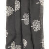 My Fave Yoga Mat Scarf Strap in Black Silver Trees