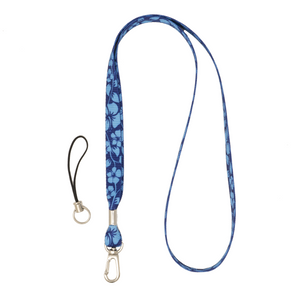 My Fave Camera Lanyard in Blue Hawaii
