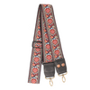 Designer Purse Strap - Red Bohemian