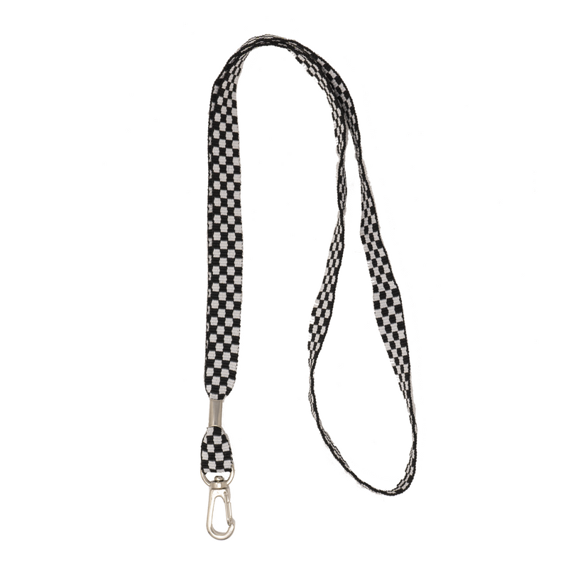 My Fave Lanyard in Checkered