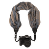 My Fave Camera Scarf Strap in Blue ColorBlends