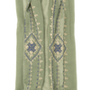 My Fave Camera Scarf Strap in Embroidered Sage Green Sample
