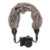 My Camera Scarf Strap in Grey Silver Trees