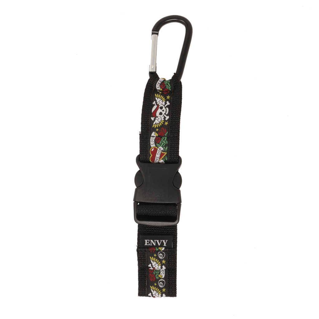 Jacket Strap - Hearts and Skulls