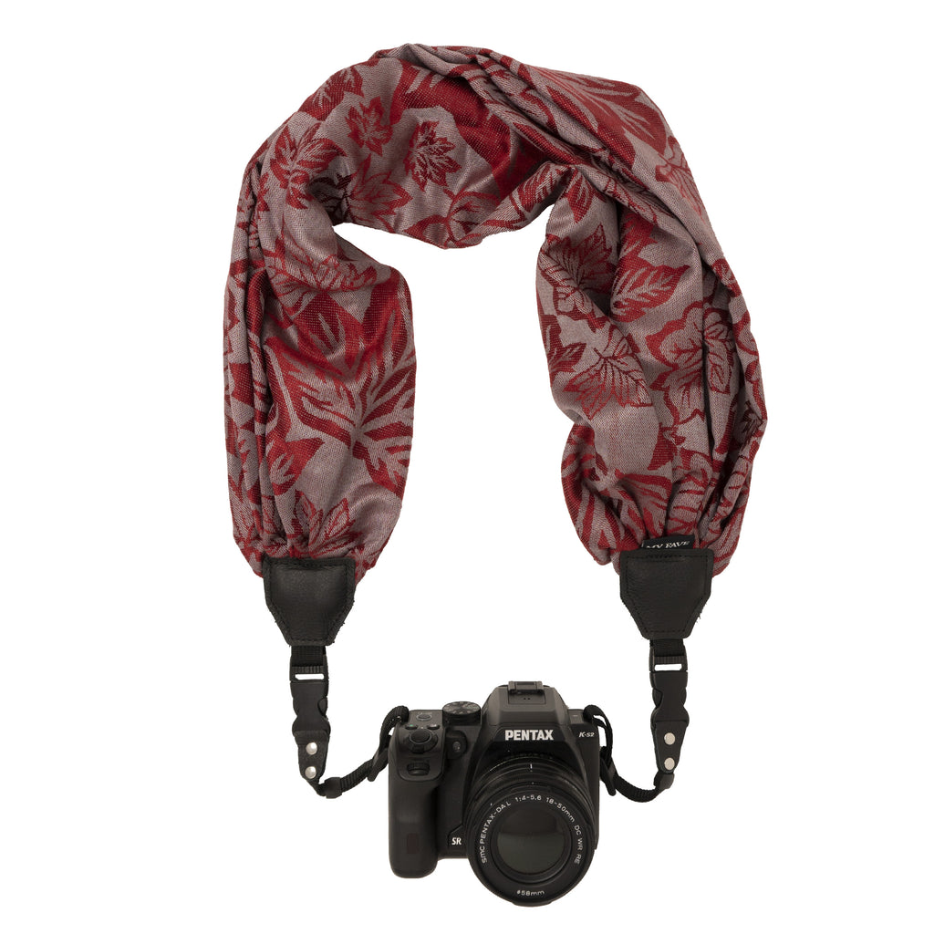 My Fave Camera Scarf Strap in A Touch of Canadiana