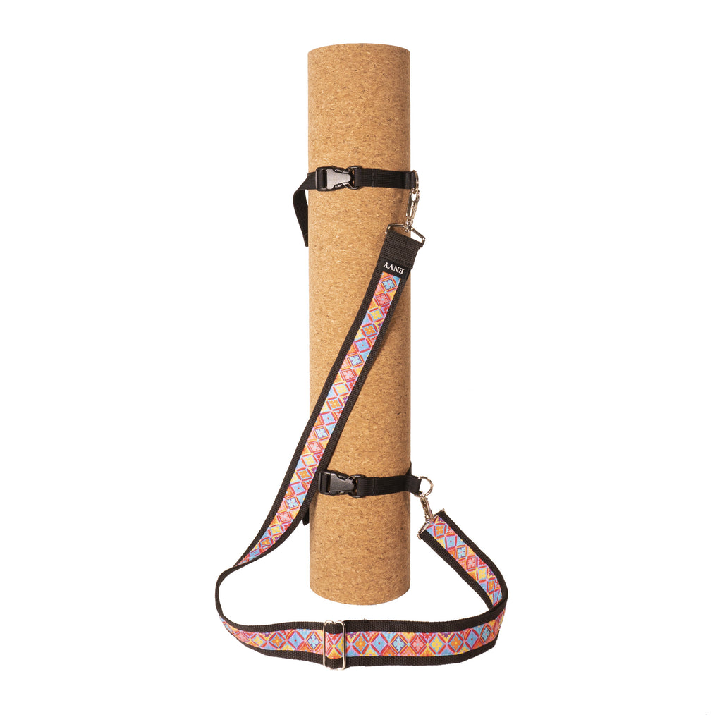 Yoga Mat Strap - Pink Diamonds