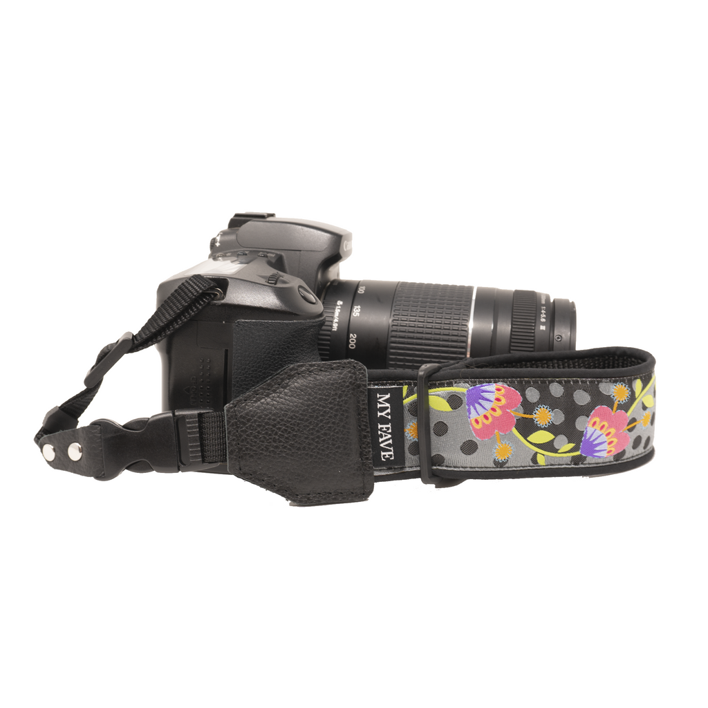 Camera Wrist Strap - The Posy Polka