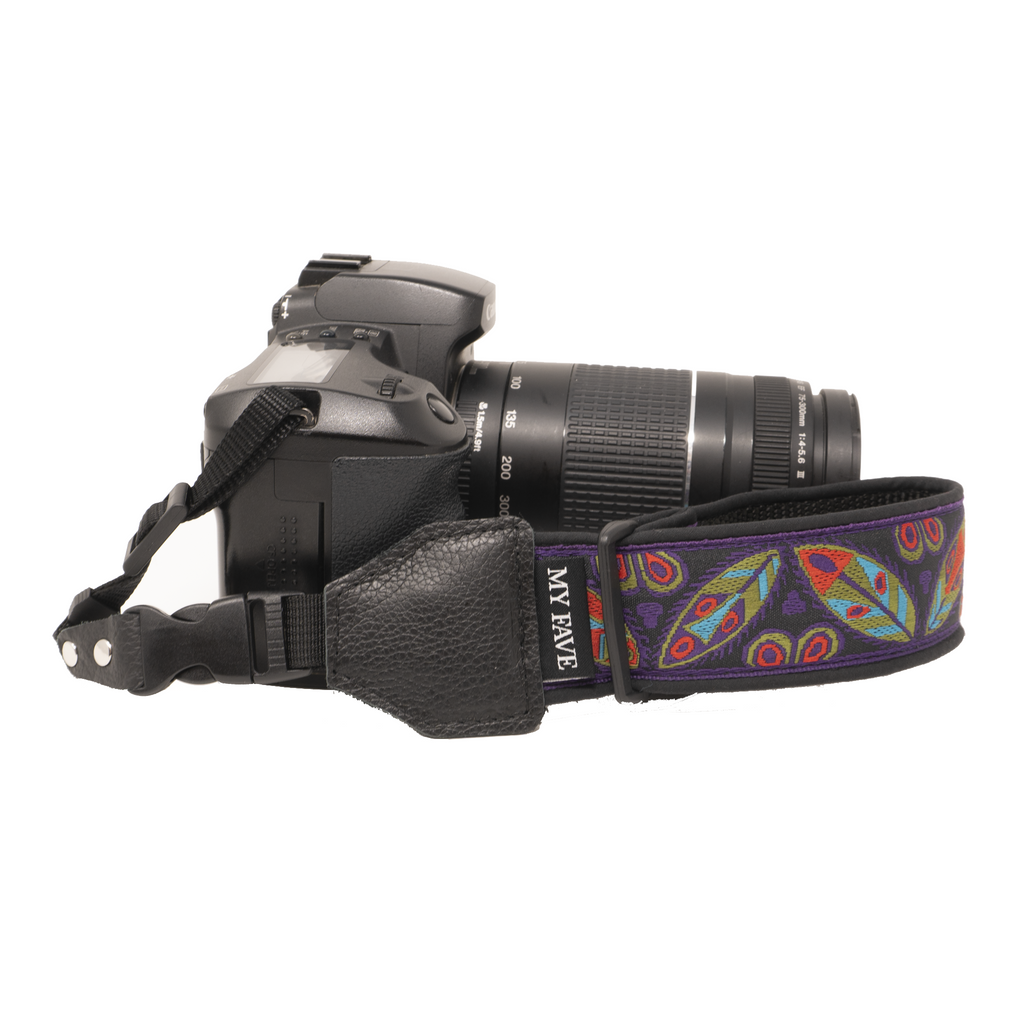 Camera Wrist Strap - Purple Mask