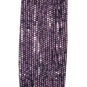 My Fave Guitar Scarf Strap in Purple Sparkle