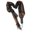 My Fave Guitar Scarf Strap in Black Vintage