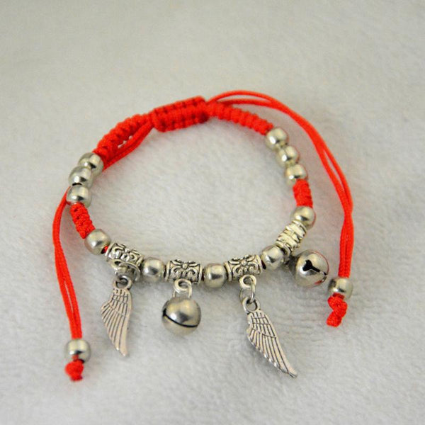 Thin Red Thread String  Charm Bracelets - Multi Style