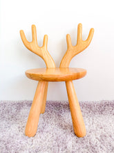 Solid Wood Kids Furniture Zoo Moose Chair