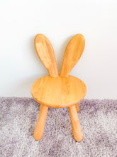 Solid Wood Kids Furniture Zoo Bunny Chair