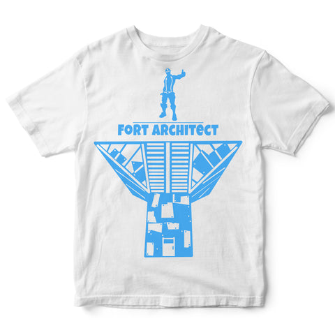 Port-a-Fort Architect Fortnite T-shirt