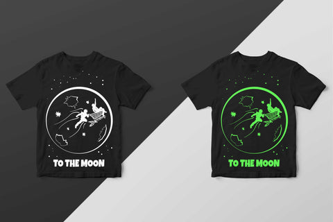 To the Moon Fortnite T-shirt