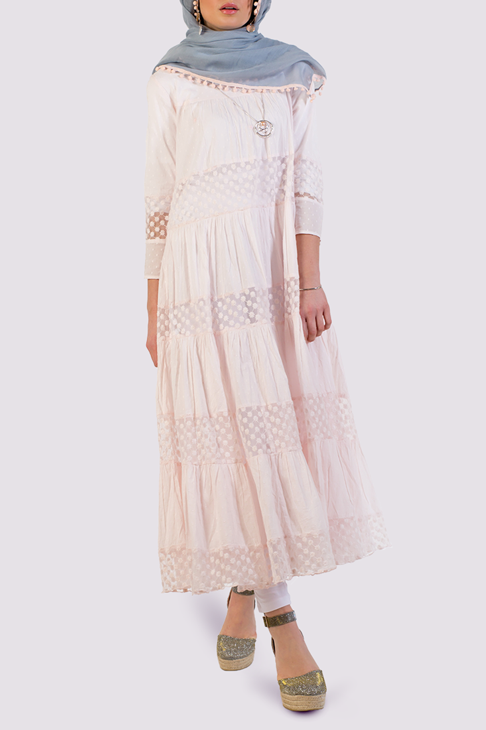 St. Tropez No51 dress in pink by Rhum Raisin.