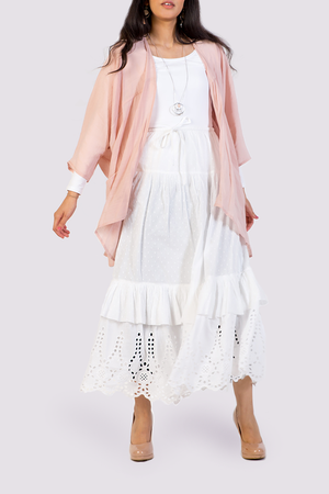 Moutaki oversized cardigan in pink
