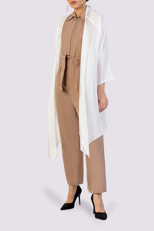 Moutaki jumpsuit with belt