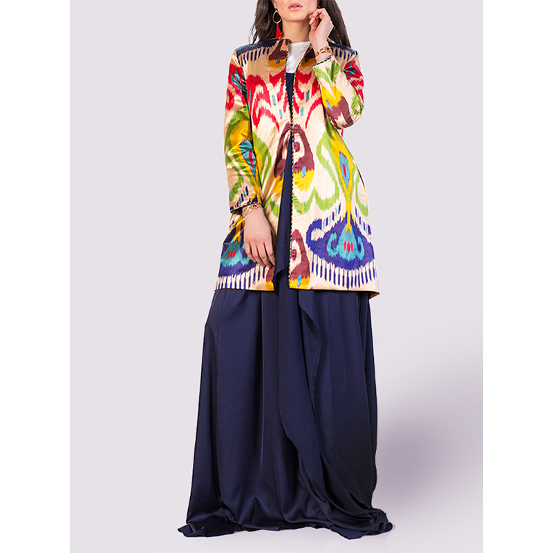 Bibi Hanum Multicoloured Jacket in Bright