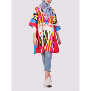 Latifa Ikat Summer Jacket