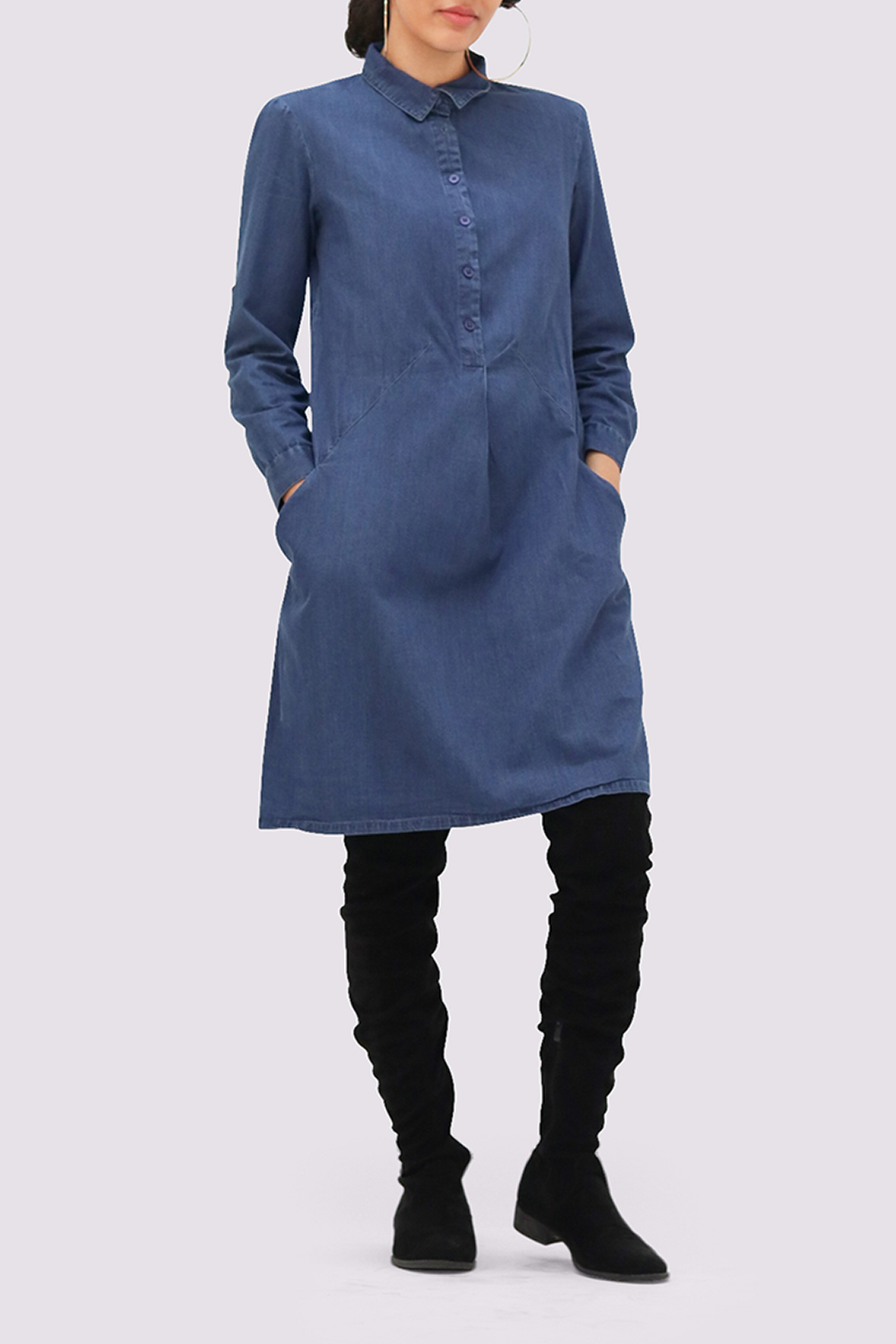 Bibico Emilia Denim Dress