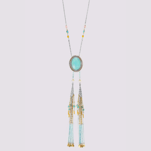 Elyne Parallel Long Necklace