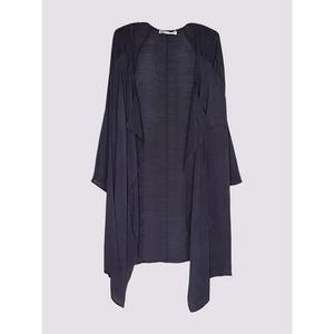 Moutaki Long Black Summer Cardigan