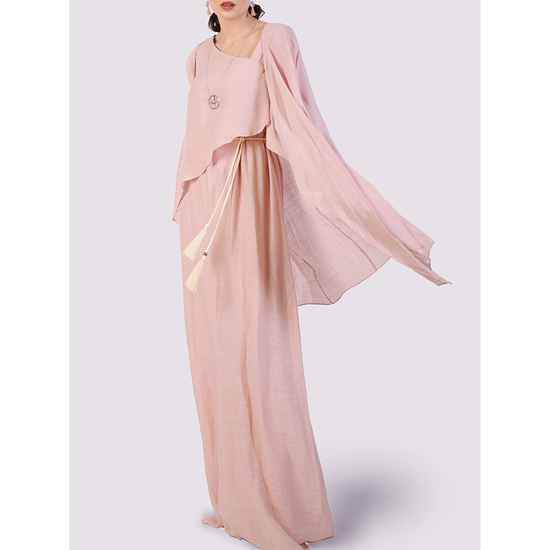 Moutaki Long Coverup in Pink