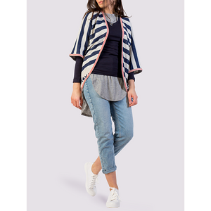 Moutaki Nevy Striped Coverup