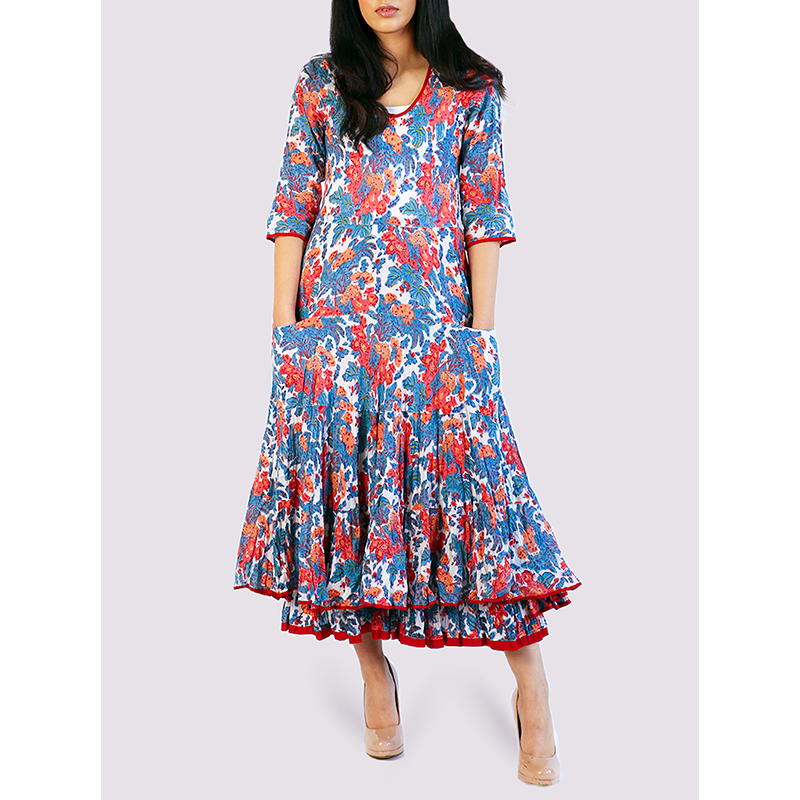 Nila Rubia China Rose Dress