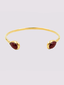 Ori Tao Burgundy Fakir thin bangle bracelet