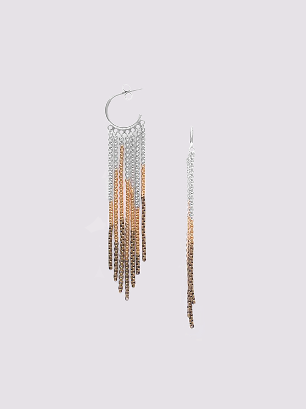 Ori Tao Flamme Creole earrings
