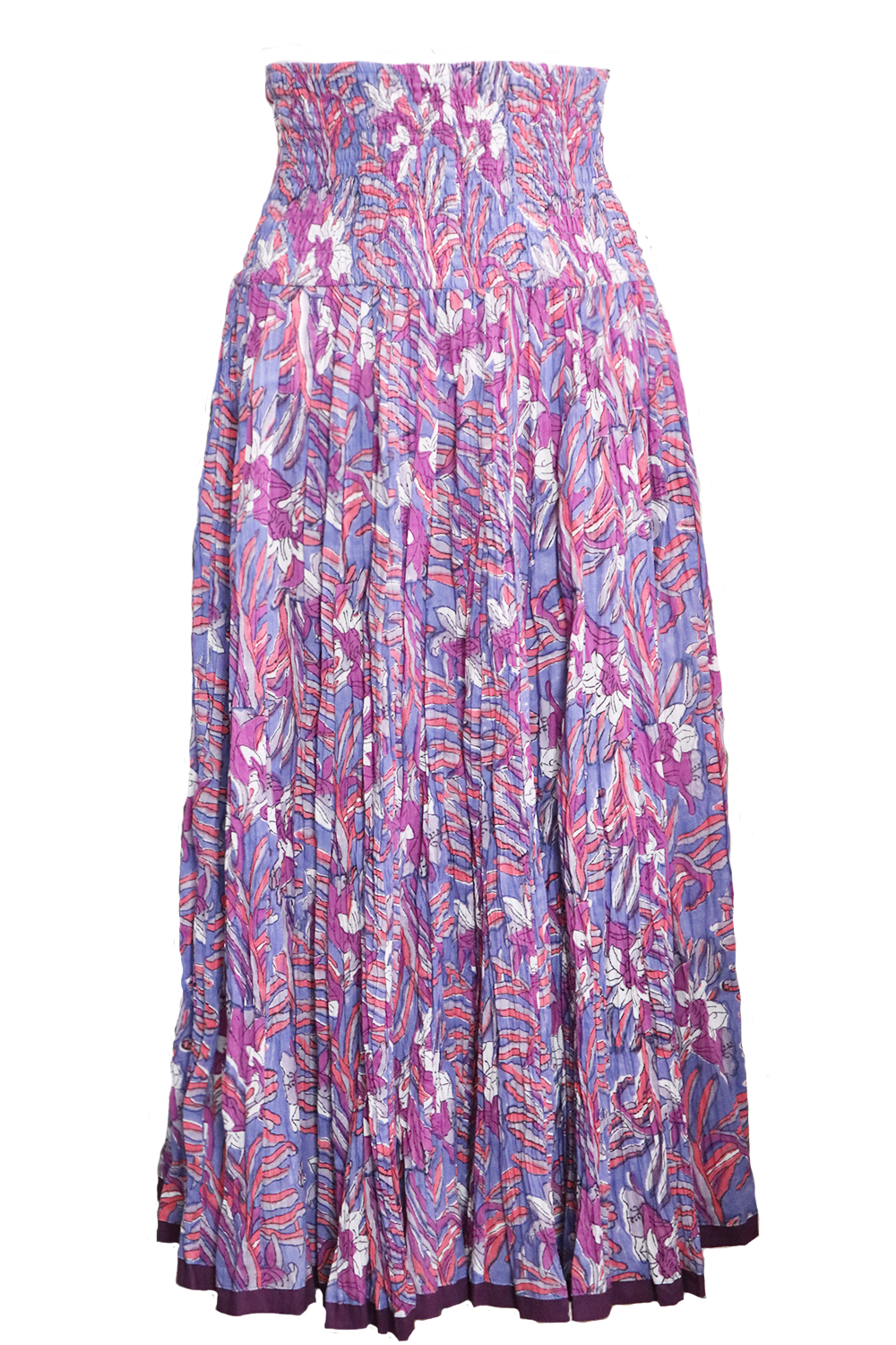 Nila Rubia 50 panel skirt in purple