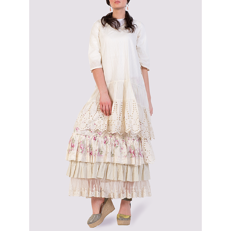 Rhum Raisin St. Remy Dress in Cream