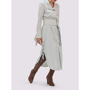 Smart and Joy Iced Mint Shirtdress