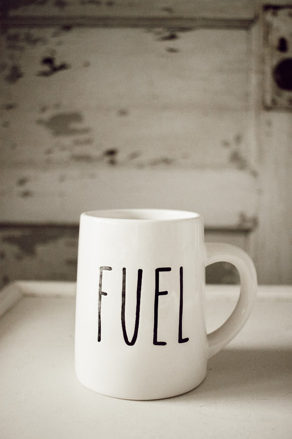 Fuel Mug w/ White Interior