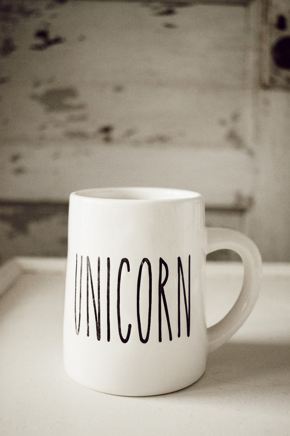 Unicorn Ceramic Mug  (Charity Partnership)