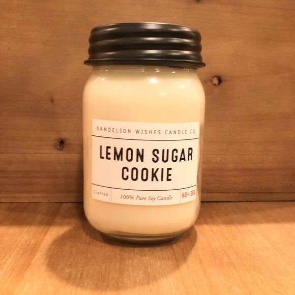 Lemon Sugar Cookie Soy Candle
