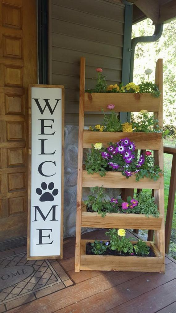Puppy Paw :: Welcome Porch Sign