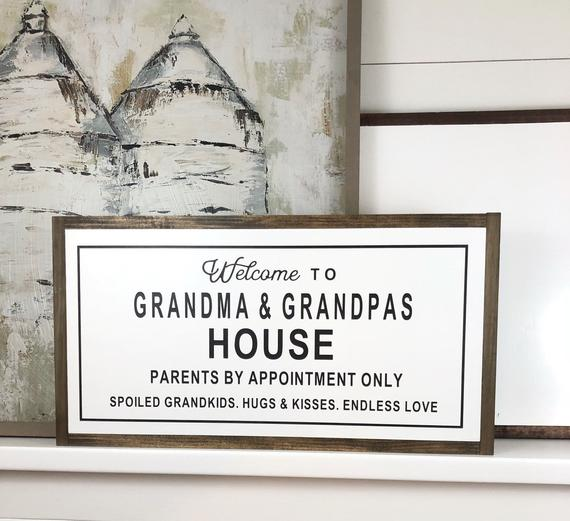 Welcome to the Grandma & Grandpas {customizable}