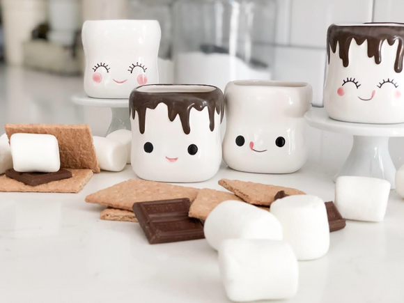 180 Degree Brand - Cute Marshmallow Shaped Cups