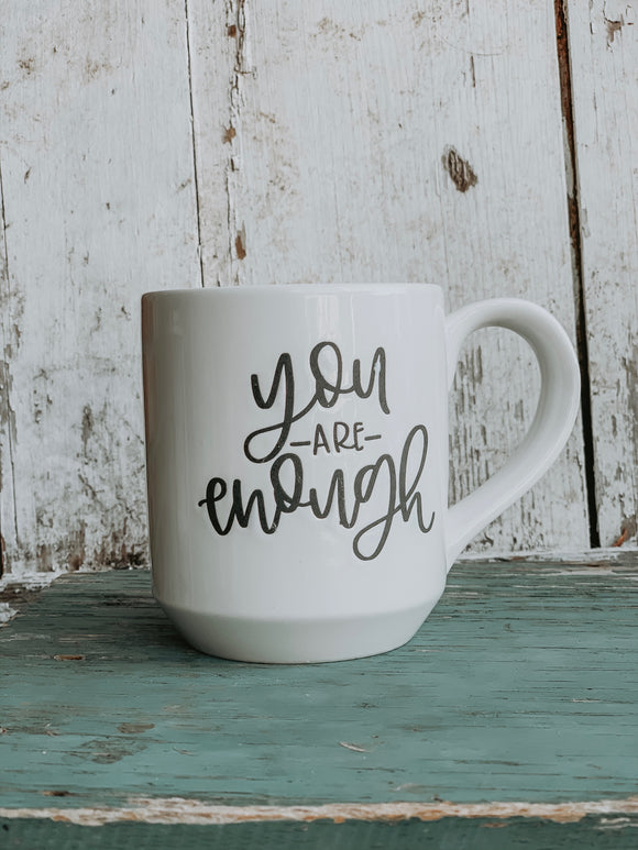 You Are Enough by Champagne & Chalk