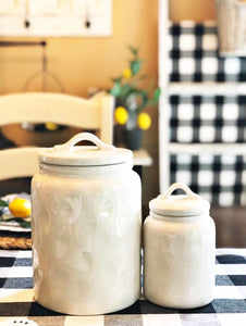 Blank Ceramic Canisters