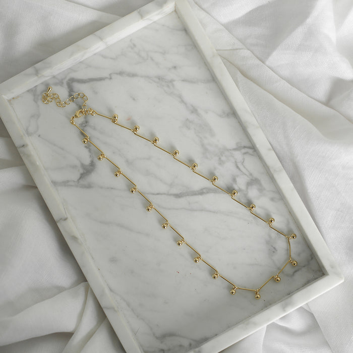 Jolie & Deen Teresa Necklace Gold